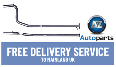 For Ford Mondeo MK 3 2.0 2.2 Diesel 2004-2007 Centre Exhaust Pipe -FE980T • 31.66£