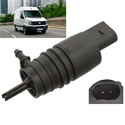 Front Windscreen Washer Pump Fits VW Crafter 2006 Through To 2012 Etc • 9.79£