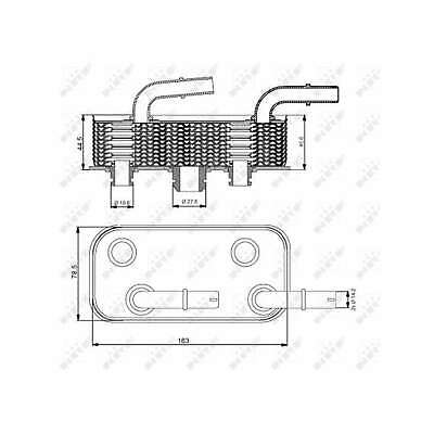Fits BMW 3 Series E46 323i Genuine NRF Engine Oil Cooler • 47.99£