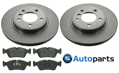For BMW - 3 Series E46 320D 1998-2007 Front 300mm Brake Discs And Pads Set • 43.95£