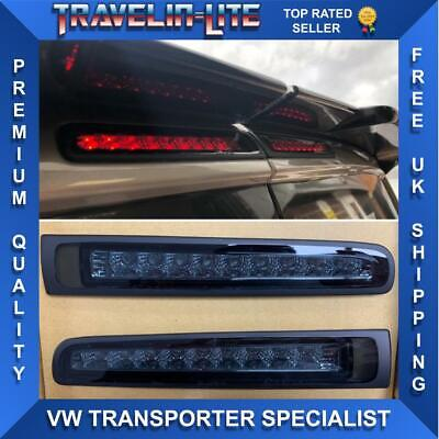 T5 T5.1 T6 Twin Rear Doors Smoked Led 3rd Brake Light Great Quality Transport • 45£