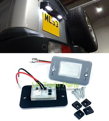 Land Rover Discovery 2 Led License Number Plate Lights X2, Upgrade (1998-2004) • 19.95£