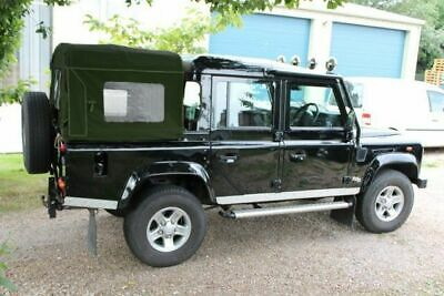 Land Rover Defender 110  Double Cab / Tomb Raider Khaki  Canvas WSW - Exmoor • 357.60£