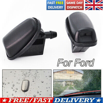 Front Windscreen Wiper Washer Nozzle Jet Spray 2Pcs For Ford Focus Mondeo KA • 4.89£