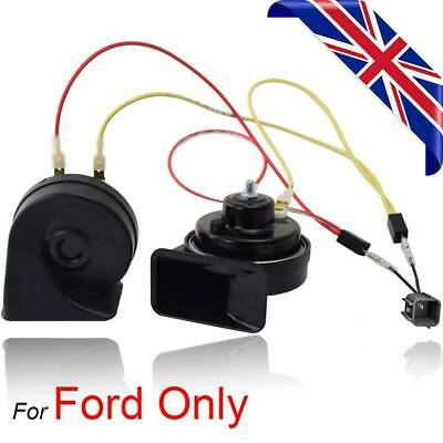 Twin Tone Snail Horn For Ford Fiesta Focus Kuga Mondeo B-Max C-Max S-Max • 9.89£