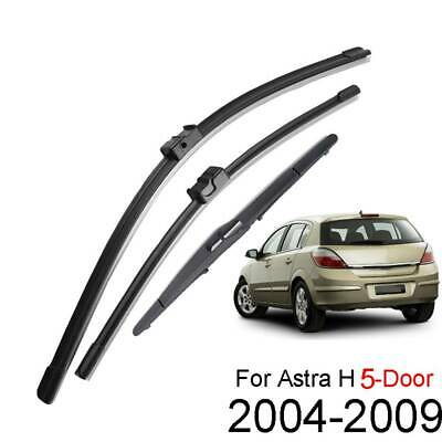 Windscreen Front Rear Wiper Blades For Opel Vauxhall Astra V H 5-Dr Hatch Estate • 9.99£