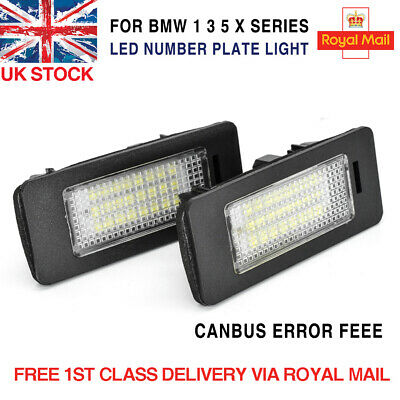 License Number Plate Modules Led Canbus Error Free Lights Bulbs Upgrade For Bmw • 9.99£