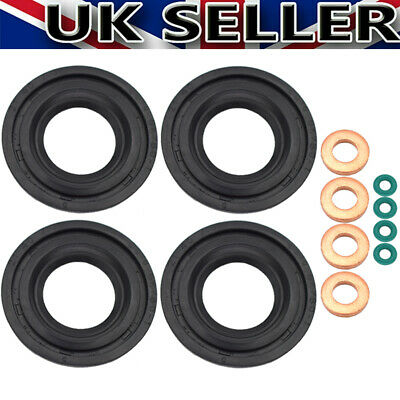 Set For Ford Transit MK7 2.2 2.4 TDCi 06-11 Fuel Injector Seal Washer O Ring  • 6.99£