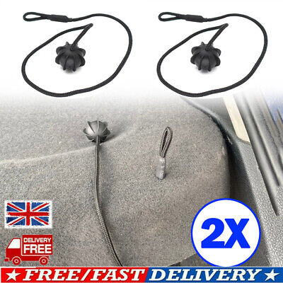 2x Parcel Shelf String Cord Tonneau Cover Strap For VW Golf MK5 MK6 R GTI UKSELL • 7.59£