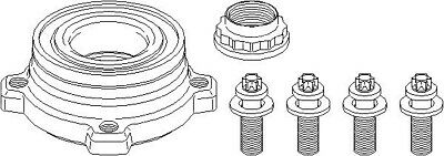OEM Rear Wheel Bearing Kit For BMW, Please Check Compatibility • 55.01£