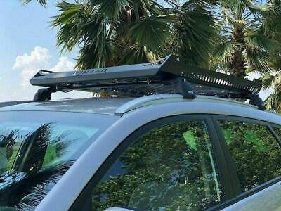 Mitsubishi Stainless Steel Black Roof Bar Rack Basket (cross Bars Not Included) • 179.99£