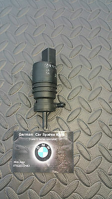 Bmw E46 Windscreen Washer Pump,Excellent Working Order • 9£