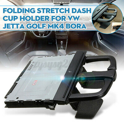 Front Folding Stretch Dash Drink Cup Holder For Vw Golf Mk4 1j0858601 • 16.59£