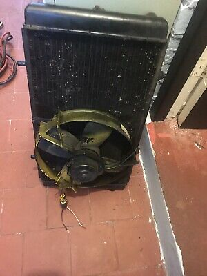 Austin Rover Maestro 1.3 Radiator With Working Fan ( 1 Bolt Locating Fan Snapped • 35£