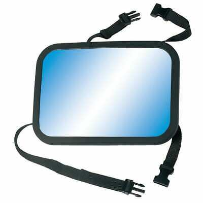 A3 Baby & Kids Adjustable Baby Car Mirror Black Child Back Seat Safety Mirror • 21.36£