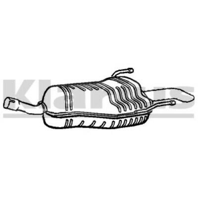 Vauxhall Astra H MK5 1.6, 1.8 2004-2013 Exhaust End Silencer Back Box GM598X • 39.95£