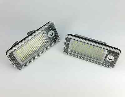 LED CanBus License Licence Number Plate Light Lamp Fit Audi A6/C6 4F 2005 - 08 • 12.55£