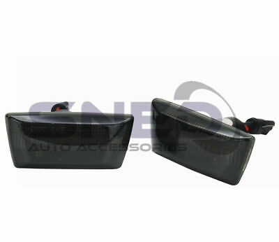 Vauxhall Corsa D 2006> Dynamic LED Sequential Smoked Side Repeater Indicators • 14.98£