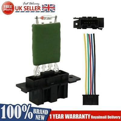 Heater Blower Resistor And Wiring Loom Repair Plug Fits Fiat Punto Grande Corsa  • 12.04£