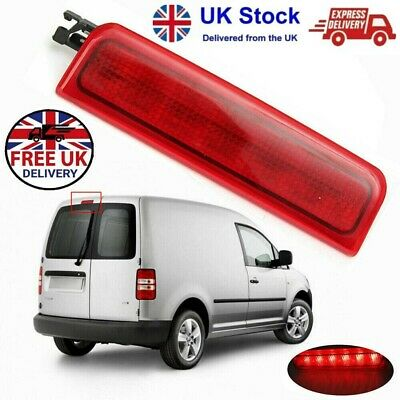 For VW Caddy 2004-2015 UK Red LED Rear Door Brake Stop Light Lamp OE 2K0945087A • 10.63£