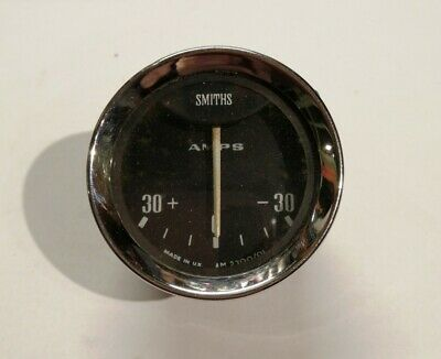 Original Classic Smiths Am2300/01 Amps Ammeter Amp Meter Gauge Mg Lotus Mini • 12£
