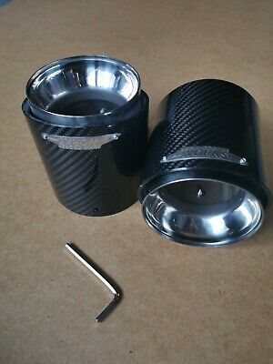 Mini Cooper JCW Carbon Exhaust Tip For All Gen 3 F55 F56 (1 Tip) • 75£