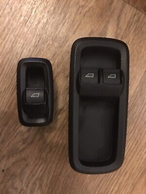 Ford Fiesta Mk7 Drivers Electric Window Switch X1 (genuine Ford Item) (o/s/f • 15.75£