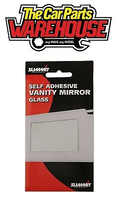 Car Vanity Mirror, Self Adhesive SUMMIT RV10 For Sun Visor Interior • 2.35£
