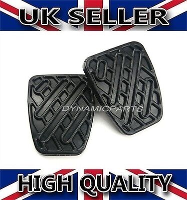 Pair Of Brake & Clutch Pedal Pad Rubbers Cover For Qashqai (manual) • 3.45£