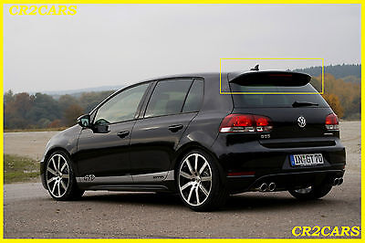 Vw Golf Vi Mk6 Gt R32 Rear/roof Spoiler (2008-2012) • 45£