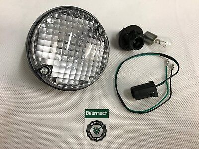 Bearmach Land Rover Defender NAS Upgrade Round Reverse Light Lamp, Bulb & Lead • 16.85£