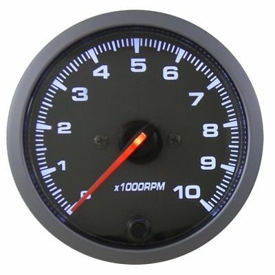 RMD 80mm Stepper Tacho Gauge Rev Counter 0 > 10,000 RPM - NG200B Coil Ignition • 59.58£