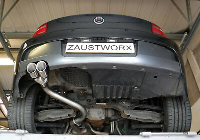 BMW 116D/118D/120D Rear Silencer Delete Pipe - Twin 3  Black Chrome Tail Pipe C • 134.99£