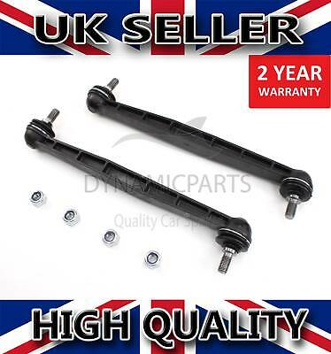 2x FRONT STABILISER ANTI ROLL BAR DROP LINKS FOR VAUXHALL ASTRA G H & J 350611 • 12.50£