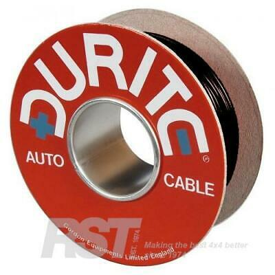 Durite Red/Black Flat Twin Core Wire Cable 2 X 1mm² X 30m 8.75 Amp - 0-952.51 • 23.85£