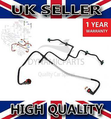 For Ford Transit 2.4 Diesel Fuel Injector Return Pipe Leak 1521640 • 27.84£