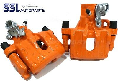 Focus Mk2 ST2 ST3 ST225 Orange Rear Remanufactured Brake Calipers & Carriers • 149.99£