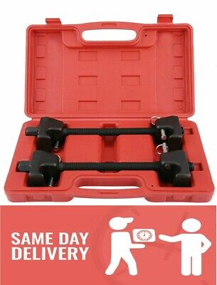 Coil Spring Compressor Kit Pair Of Suspension Clamps With Case Portable CSN03 • 22.99£