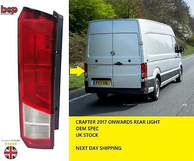 Vw Crafter 2017 2018 2019 2020 Rear Light Left Passenger Side Tail Lamp New • 54.99£