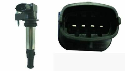 Genuine WAI Pencil Type Ignition Coil For Vauxhall Vectra 2.8 (10/05-06/08) • 36.30£