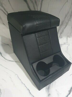 Land Rover Defender 90/110 Premium Cubby Box With Black Stitching  • 130£