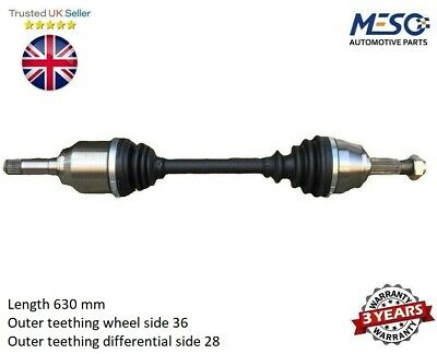 Drive Shaft Axle Fits For Seat Ibiza Mk Iv 1.0 2015-2017 Front Left • 60.73£