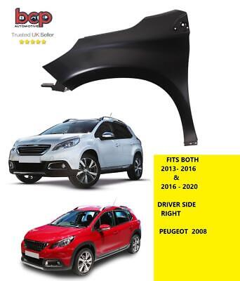 Peugeot 2008 2016 - 2020 Front Wing Left Passengers Side Insurance Approved • 71.99£