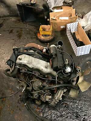 Landrover Defender 90 110 2.5td 19j Engine Complete Can Be Heard Running  • 650£
