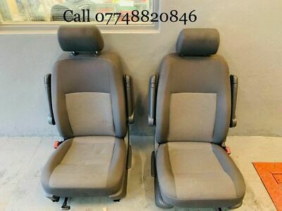 VW T5, T6 Caravelle Front Drivers And Passenger Seats • 1,000£