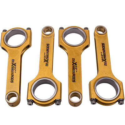 Titanize Connecting Rods Conrod For Toyota Auris Corolla NR 8NR-FTS 1.2L ARP2000 • 283.68£