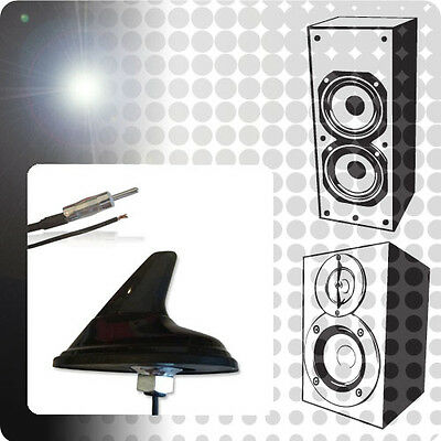 Saab 9-3 YS3F 2.0 ACP Universal Amplified AM/FM Shark Fin Aerial Upgrade New XE3 • 6.86£