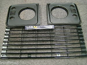 Land Rover Defender Front Standard Grill And Light Surrounds Kit • 30.95£