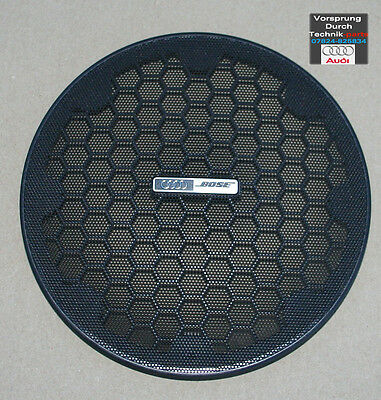 NEW Audi A4 S4 RS4 Convertible Cabriolet BOSE Speaker Cover Grill BLACK  • 34.97£