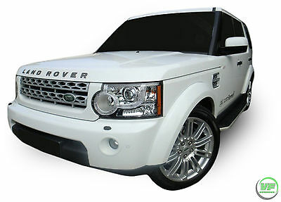 Running Boards Side Steps  OE Style + FITTING KIT For Land Rover Discovery 3 / 4 • 110£